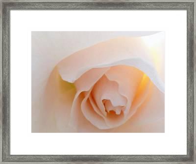 Finding Inner Peace Framed Print by Steve Taylor