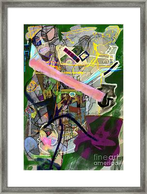 Finding Meaning Despite Appearances 2h Framed Print by David Baruch Wolk