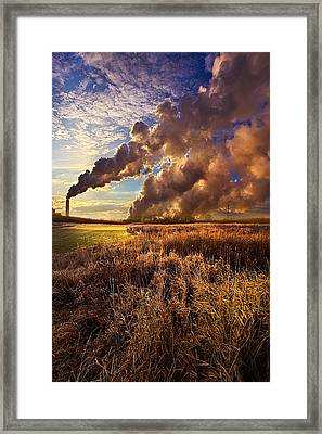Finding The Beauty Within Framed Print by Phil Koch