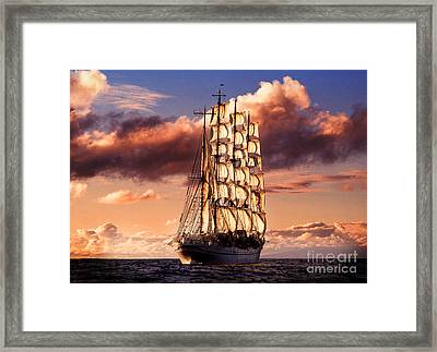 Fine Art Untitled No.03 Framed Print by Caio Caldas