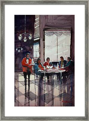 Fine Dining Framed Print by Ryan Radke