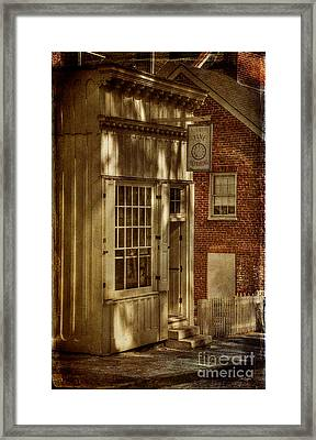 Fine Repairs Framed Print by Lois Bryan
