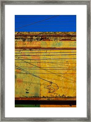 Fine Tuned Framed Print by Skip Hunt