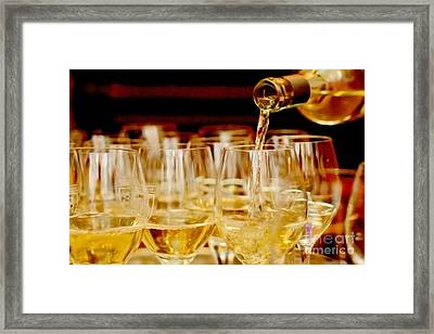Fine Wine Framed Print by Mateja Hrvacic