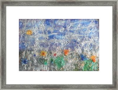 Finestra Su Eco Giardino Framed Print by Andrea Cola