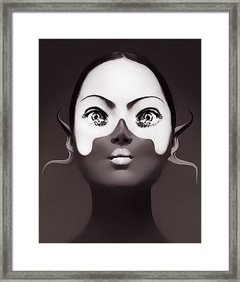 Fingers Framed Print by Yosi Cupano
