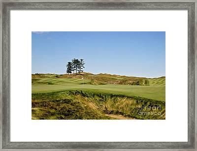Finishing Hole Framed Print by Scott Pellegrin
