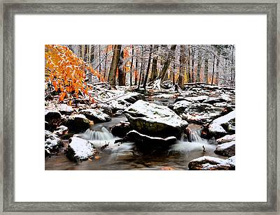 Fire And Ice Framed Print by JC Findley