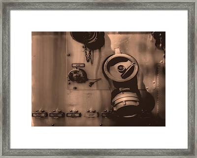Fire Engine Number Six Framed Print by Bob Orsillo