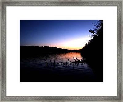 Fire In My Head. Framed Print by Eddie Armstrong