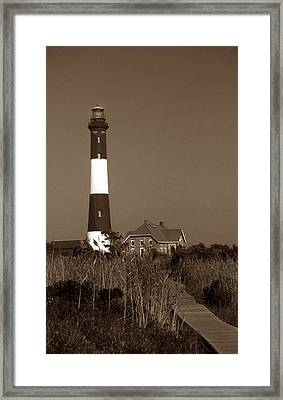 Fire Island Lighthouse Framed Print by Skip Willits