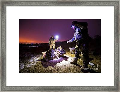 Fire Mission Framed Print by Serbennia Davis