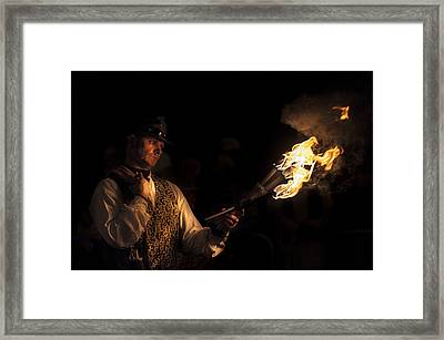 Fire Starter Framed Print by Richard Allen
