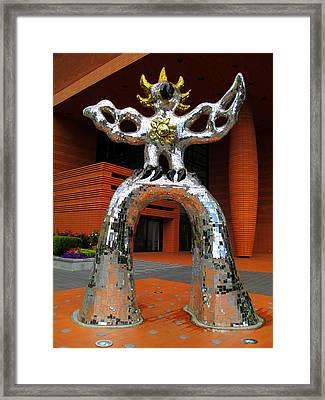 Firebird At Bechtler Framed Print by Randall Weidner