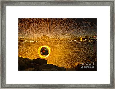Fireflies Framed Print by Andrew Paranavitana