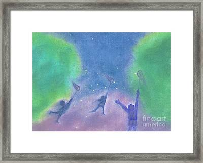 Fireflies By Jrr Framed Print by First Star Art