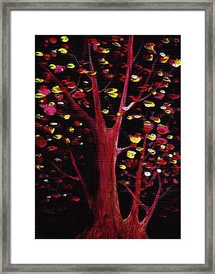 Firefly Dream Framed Print by Anastasiya Malakhova
