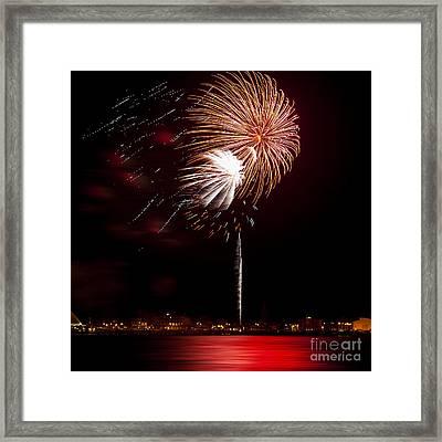 Firework 01 Framed Print by Svetlana Sewell
