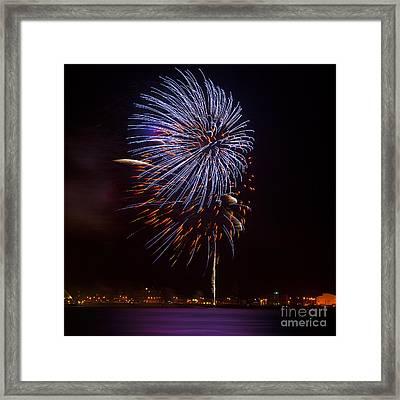 Firework 02 Framed Print by Svetlana Sewell