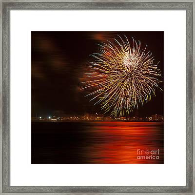 Firework 07 Framed Print by Svetlana Sewell