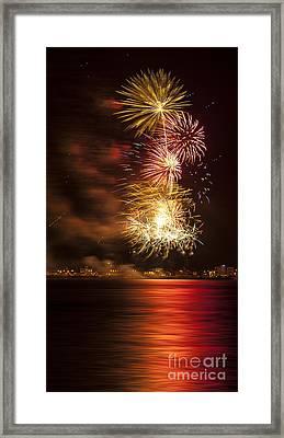 Firework 11 Framed Print by Svetlana Sewell