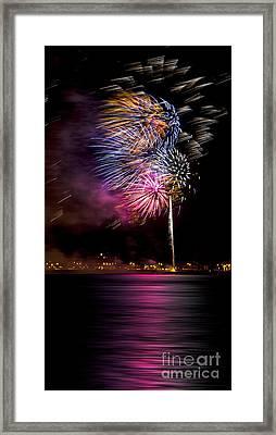 Firework 12 Framed Print by Svetlana Sewell