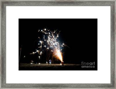 Fireworks 10 Framed Print by Cassie Marie Photography