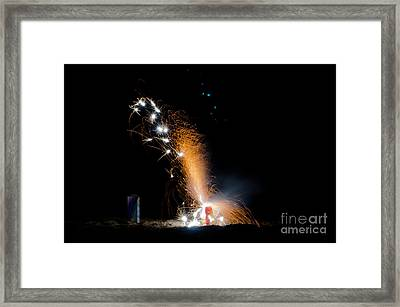 Fireworks 12 Framed Print by Cassie Marie Photography