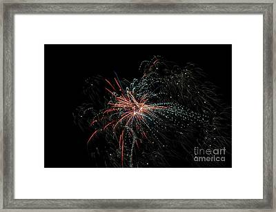 Fireworks 15 Framed Print by Cassie Marie Photography