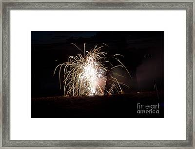 Fireworks 18 Framed Print by Cassie Marie Photography