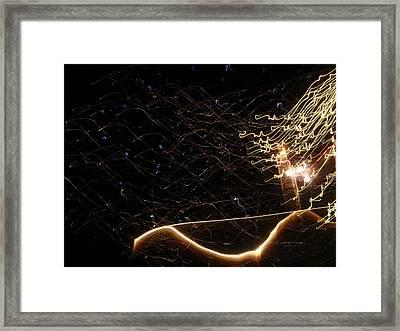 Fireworks #2 Framed Print by Senske Art