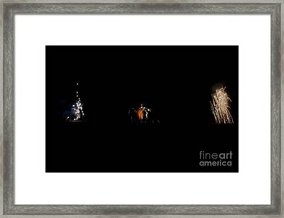 Fireworks 26 Framed Print by Cassie Marie Photography