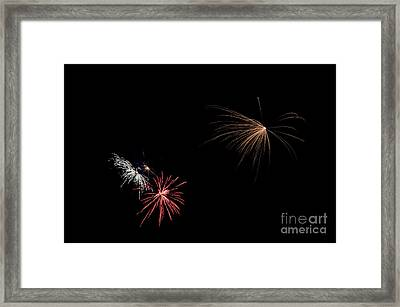Fireworks 31 Framed Print by Cassie Marie Photography