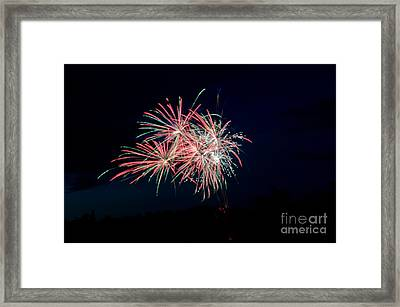 Fireworks 33 Framed Print by Cassie Marie Photography