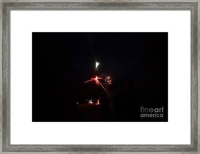 Fireworks 35 Framed Print by Cassie Marie Photography