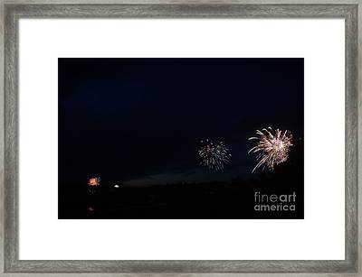 Fireworks 38 Framed Print by Cassie Marie Photography