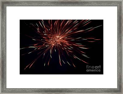 Fireworks 40 Framed Print by Cassie Marie Photography