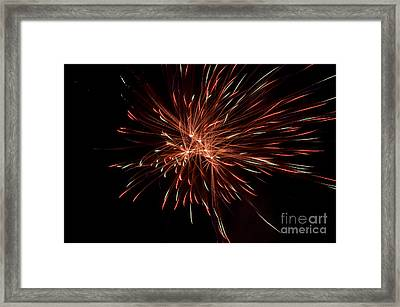 Fireworks 42 Framed Print by Cassie Marie Photography
