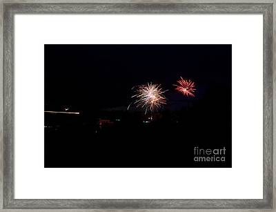 Fireworks 49 Framed Print by Cassie Marie Photography
