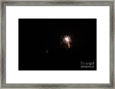 Fireworks 50 Framed Print by Cassie Marie Photography