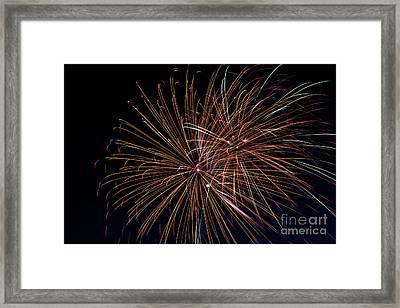 Fireworks Framed Print by Jason Meyer