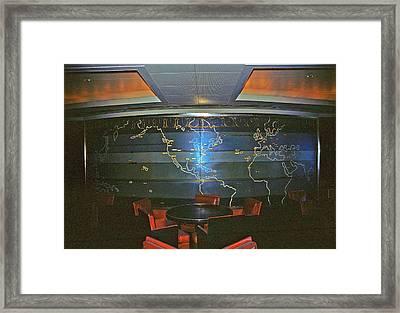 First Class Smoking Room Framed Print by John Harding Photography