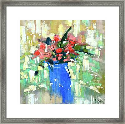 First Day Of Spring Framed Print by Anastasija Kraineva