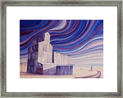 First Frost On The Hi Line II Framed Print by Scott Kirby