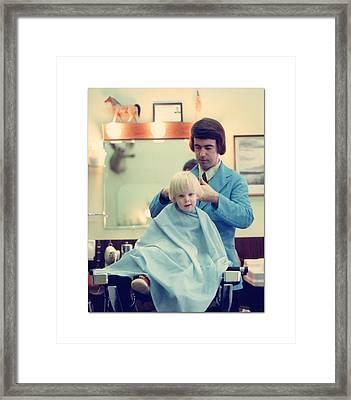First Haircut Framed Print by Jack Pumphrey