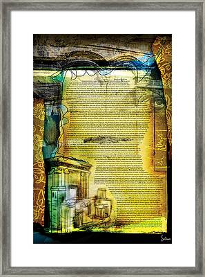 First Kings 1 Framed Print by Switchvues Design