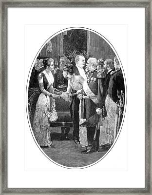 First Lady Frances Cleveland, 19th Framed Print by Science Source