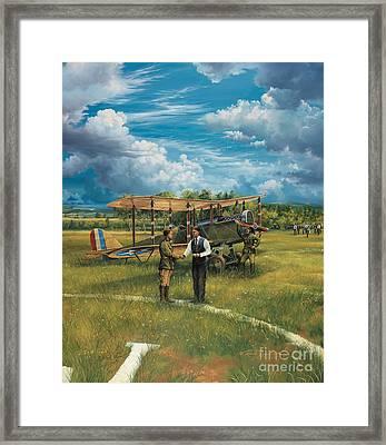 First Landing At Shepherd's Field Framed Print by Randy Green