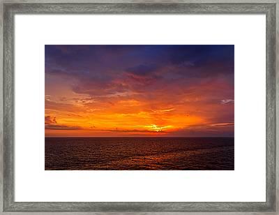 First Light Framed Print by Matt Harvey