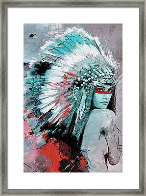 First Nations 005 C Framed Print by Corporate Art Task Force